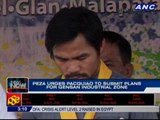 PEZA Urges pacquiao to submit plans for GenSan Industrial Zone