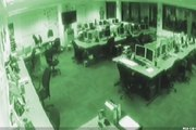 Marc Logan reports: Office ghost caught on cam