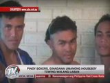 Recruiter accused of turning Pinoy boxers into houseboys