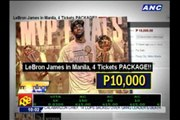 'Free' LeBron tickets sold online