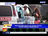 Viral video: Ice cream truck offers vegetables