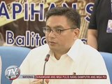 PNoy rejects Customs chief Biazon's resignation