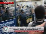 Protesters storm PNoy's house on SONA eve
