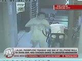 Caught on CCTV: Man dances after robbing bar in Caloocan