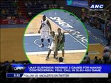 UAAP suspends ref for controversial call in DLSU-ADU game