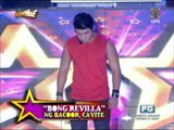 Vice, Vhong play with 'Sen. Bong' on 'It's Showtime'