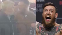 Conor McGregor Caught PUNCHING Old Man In the Face During Bar Fight!