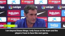 (Subtitled) 'Neymar doesn't belong to us - I'm only focused on my own players' Valverde