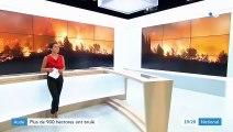 Incendie : plus de 900 hectares brûlés dans l'Aude