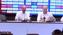 Trabzonspor-Sparta Prag maçının ardından - Sparta Prag Teknik Direktörü Jilek (1)