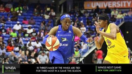 LA Sparks vs Dallas Wings Recap | Arike Ogunbowale 35 Pts