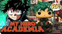 MY HERO ACADEMIA FUNKO POP! ANIMATION DEKU VINYL FIGURE HOT TOPIC EXCLUSIVE