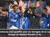 Ligue Europa -  Strasbourg au rendez-vous !