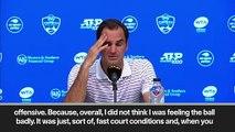 """(Subtitled) Federer """"impressed"""" by Rublev despite shock defeat in Cincinnati"""