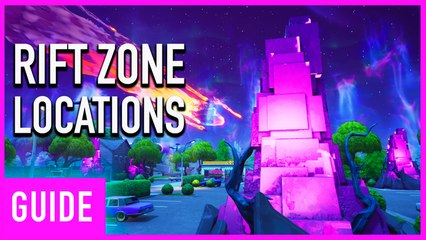 Fortnite Season X: Rift Zones Location Guide   Worlds Collide Challenges