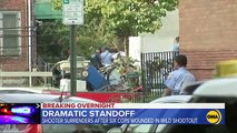 Gunman surrenders after standoff with cops in Philadelphia