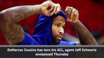Breaking News - DeMarcus Cousins tears ACL