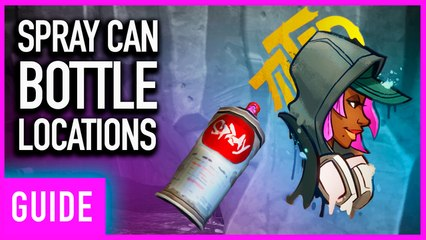 Fortnite Season X: Finding 5 Lost Spray Cans Guide   Spray & Play Challenges