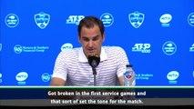 Federer impressed with Rublev after shock Cincinnati loss
