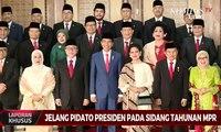 Jokowi- JK Tiba, Sidang Tahunan MPR Dimulai