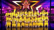 Indian Dance Crew V.Unbeatable Earns GOLDEN BUZZER From Dwyane Wade! - America's Got Talent 2019