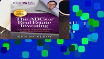Full version  ABCs of Real Estate Investing (Rich Dad s Advisors (Paperback)) Complete