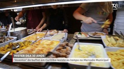 Restaurante 'inventor' do buffet em Curitiba resiste ao tempo no Mercado Municipal