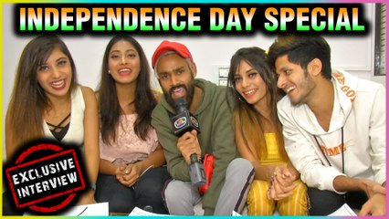 TikTok Stars Team Nawab Celebrates Independence Day With TellyMasala | EXCLUSIVE