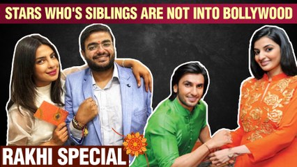 Top 10 Bollywood Stars Who's Siblings Are Not CONNECTED To The FILM Industry