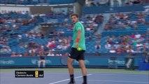 Djokovic eases into Cincinnati quarters
