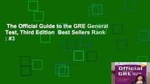 The Official Guide to the GRE General Test, Third Edition  Best Sellers Rank : #3