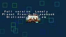 Full version  Lonely Planet French Phrasebook   Dictionary  Review