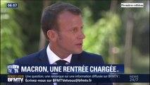 G7, Vladimir Poutine à Brégançon, Assemblée général de l'ONU... Pour Emmanuel Macron, la rentrée sera chargée