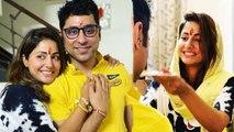 Hina Khan celebrates Raksha Bandhan with brother Aamir Khan | FilmiBeat