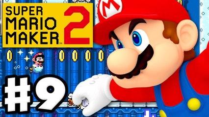 Super Mario Maker 2 - Gameplay Walkthrough Part 9 - Swim Faster- (Nintendo Switch)