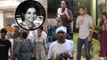 Vidya Sinha Last Rite: Mohit Malik, Sunil Pal & other celebs attended her funeral | FilmiBeat