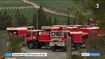 Aude : le feu a ravagé plus de 900 hectares de forêt