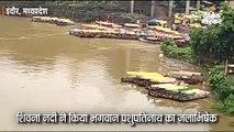 भारी बारिश से नदी-नाले उफान पर