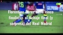 Florentino Pérez tiene cinco finalistas al fichaje final (y sorpresa) del Real Madrid