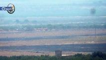 تدمير دبابة لميليشيا أسد على محور سكيك جنوب إدلب