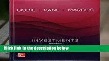 F.R.E.E [D.O.W.N.L.O.A.D] Investments Best Sellers by Zvi Bodie