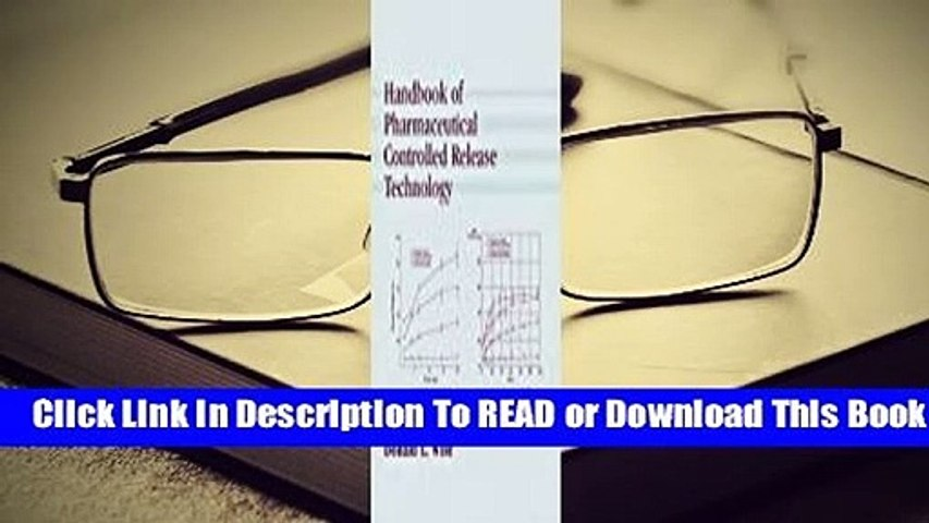 [Read] Handbook of Pharmaceutical Controlled Release Technology  For Free
