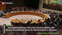 After 48 years, UN Security Council will talk Kashmir
