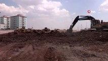 Başkan Tahmazoğlu, park çalışmalarını inceledi