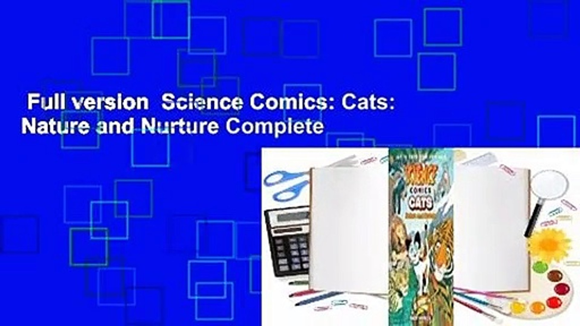 Cats Science Comics Nature and Nurture