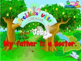 Learning Kids - Children lesson -Jobs Vocabulary, Sentences Lesson, English for Kids