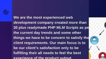 MLM Software - Readymade PHP MLM Scripts - PHP MLM Scripts