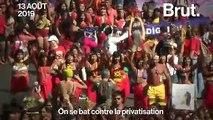 Au Brésil, des femmes indigènes protestent pour défendre leurs terres et leurs droits