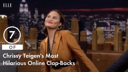 7 of Chrissy Teigen's Most Hilarious Online Clap-Backs