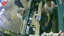Telefon bayisini basıp çalışanı silahla vuran şahıslar kamerada